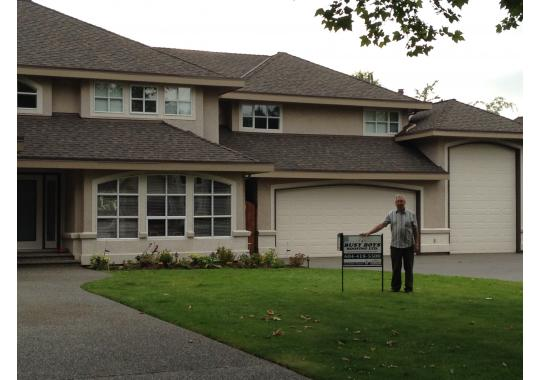 Mr Peterson, from Langley was very impressed after we replaced his roof using CertainTeed Landmark TL shingle.