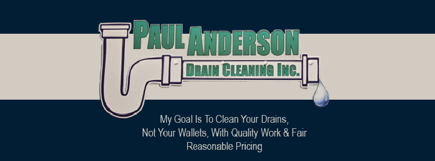 Paul Anderson Drain Cleaning, Inc. logo
