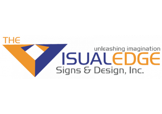 The Visual Edge Signs and Designs, Inc. logo