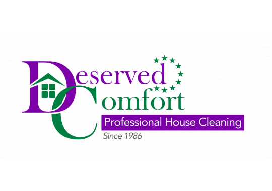 Deserved Comfort House Cleaning logo
