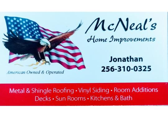 McNeal's Home Improvement logo