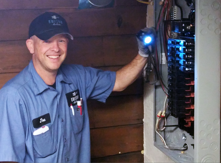 We love being electricians!