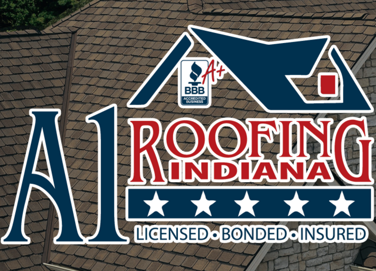 A 1 Roofing Indiana logo
