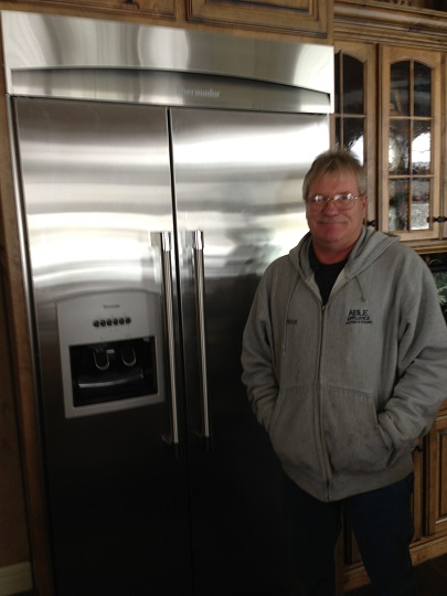 Hi my name is Rick. I am a service contractor for Able Appliance Repair. I have 21 years as a service tech and work on most all makes and models of laundry & refrigeration appliances. Thanks Kansas City and Independence where my family makes our home. It