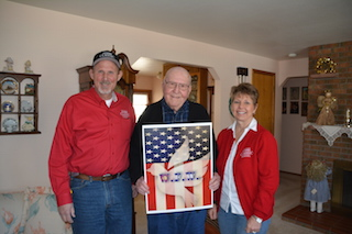 Harry is a WWll veteran who was awarded 10 windows at no cost. WFW is a community outreach of Colorado Classic Windows.