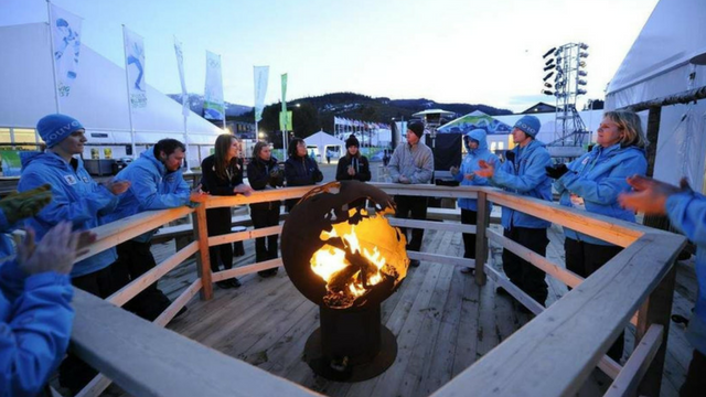 Globe Shaped Handcrafted Fire Pit