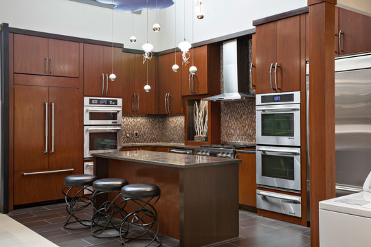 featuring the Jenn-Air pro appliances and LED lighting
