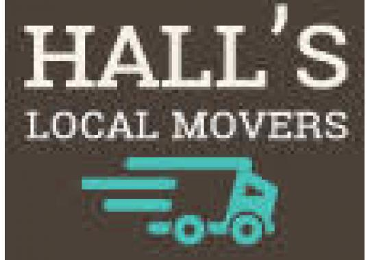 Hall's Local Movers logo