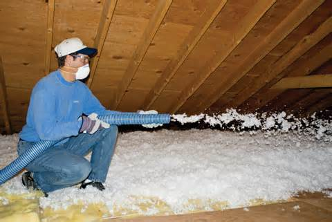 Blow in insulation is very important in keeping you home's temperature consistent and your air conditioning working efficiently