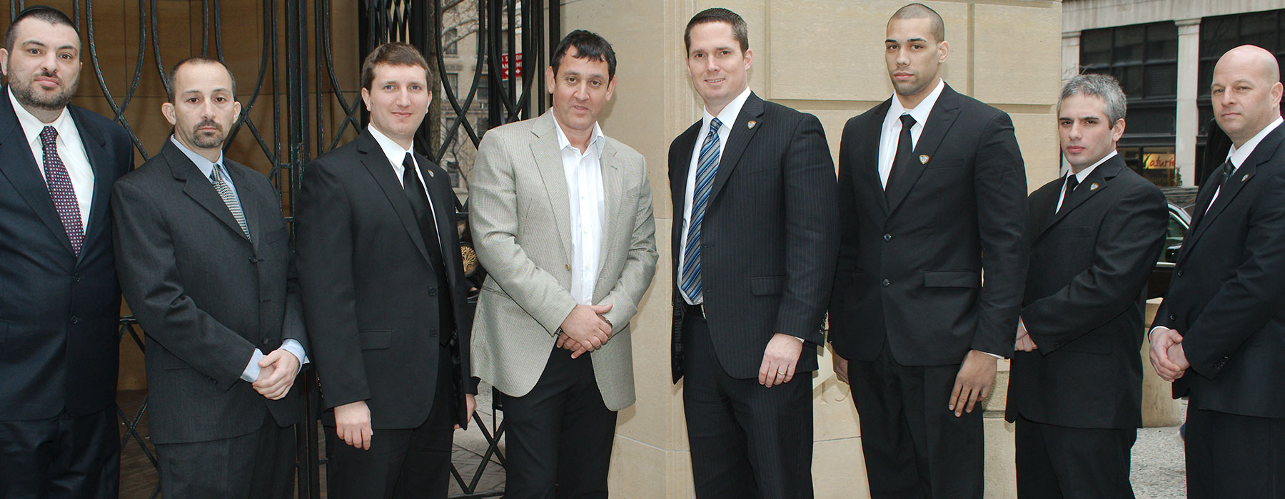 Our leadership has the combined expertise of over 60 years of security protection, military and police training.