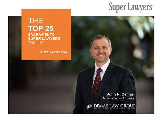 Top Rated Sacramento Injury Attorney