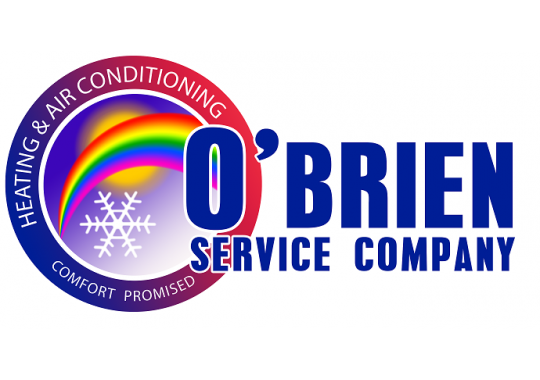 O'Brien Service Company; Heating & Air Conditioning logo
