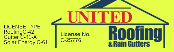 United Roofing and Rain Gutters logo