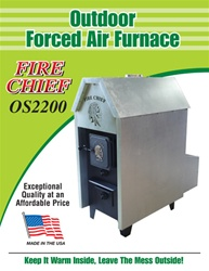 Outdoor Wood Furnace by FireChief.