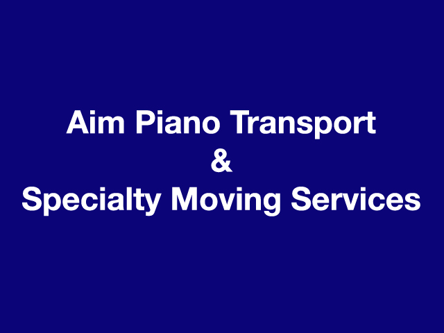 Aim Piano Transport & Specialty Moving Services logo
