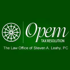 The Law Office of Steven A. Leahy, PC, Opem Tax Resolution Services logo