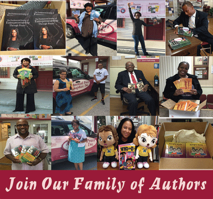 become apart of our growing family of authors