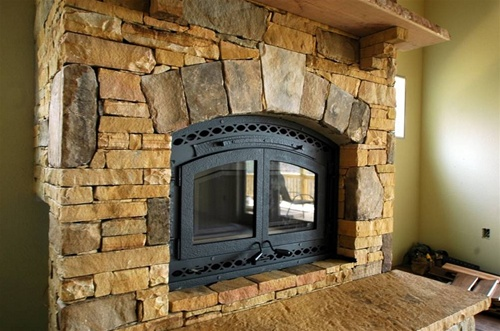 Security Bis Tradition Zero Clearance Wood Burning Fireplace.
