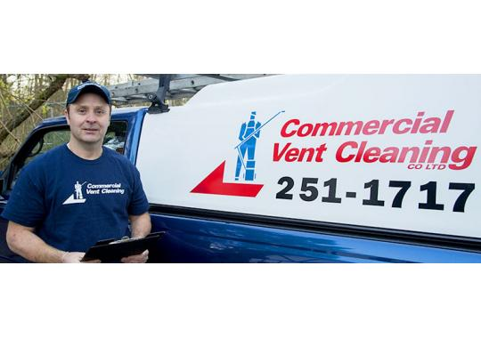 Commercial Vent Cleaning Ltd. logo