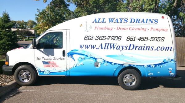 We maintain a clean, professional fleet of service vehicles for all of your drain cleaning and plumbing needs.