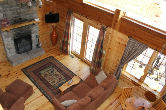 All Cabins come with a Fireplace or Wood Burning Stove!