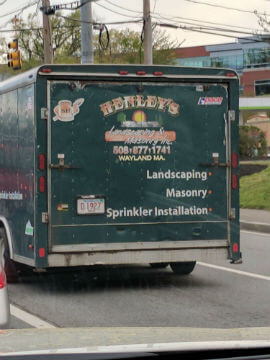 Business Branded Truck