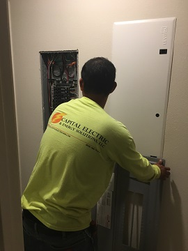 Professional and licensed electricians