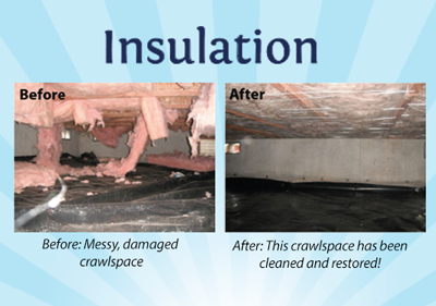 Crawlspace Before and After
