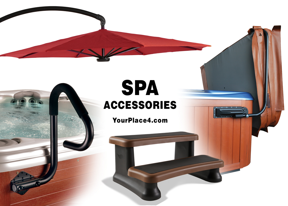 Wide selection of accessories for your Hot Tub.