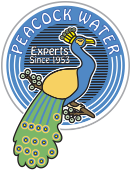 Peacock Water logo