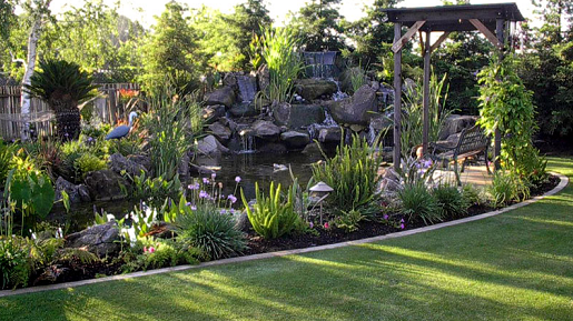 Large Waterfall Water Feature