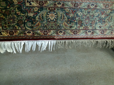 The Clean Team can clean your area rugs!