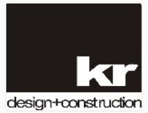 KR Design and Construction logo