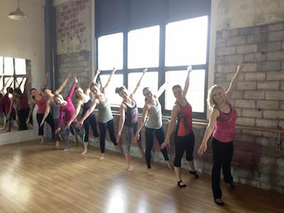 bootybarre is a structured, easy-to-follow pre-choreographed 55-minute class that alternates deep muscle-toning movements along with intervals of fat-blasting cardio techniques. The fluid dance-inspired class is set to an upbeat music selection at a vigoro