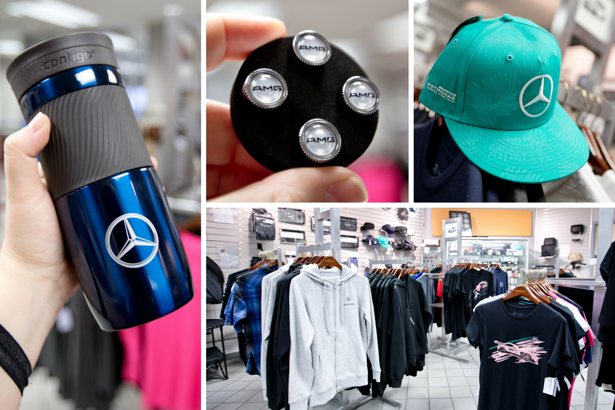 We have all the Mercedes-Benz gear to pair with your vehicle! Browse our Parts Department to find your next Mercedes-Benz or AMG®  item.