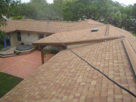Repaired by Nueces Construction.