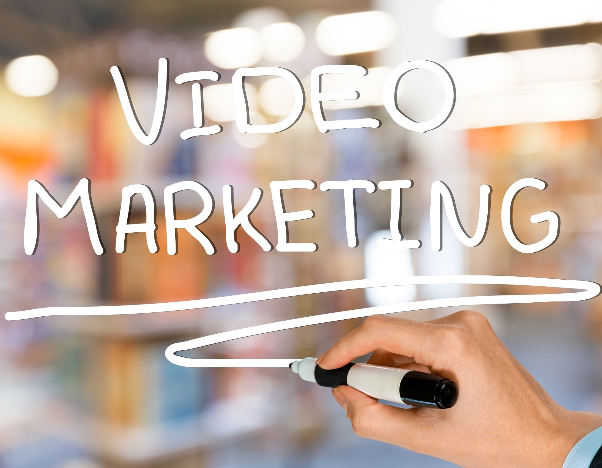 Try Video Marketing for a more engaging viewer/visitor experience