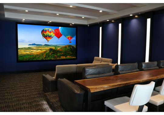 If you want a great example of an award-winning home theater by Bekins, visit our Reference Theater in the Classic Stereo showroom. Our Bekins integration team has won over a dozen CEDIA awards for work with home theaters, media rooms, home automation and