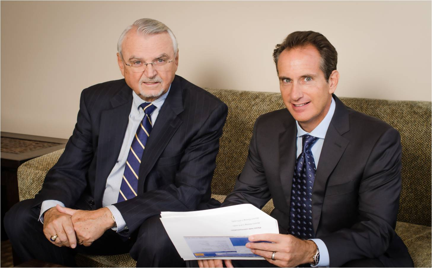 Michael Wood, Principal & Stephen Metter, Chief Executive Officer & Principal