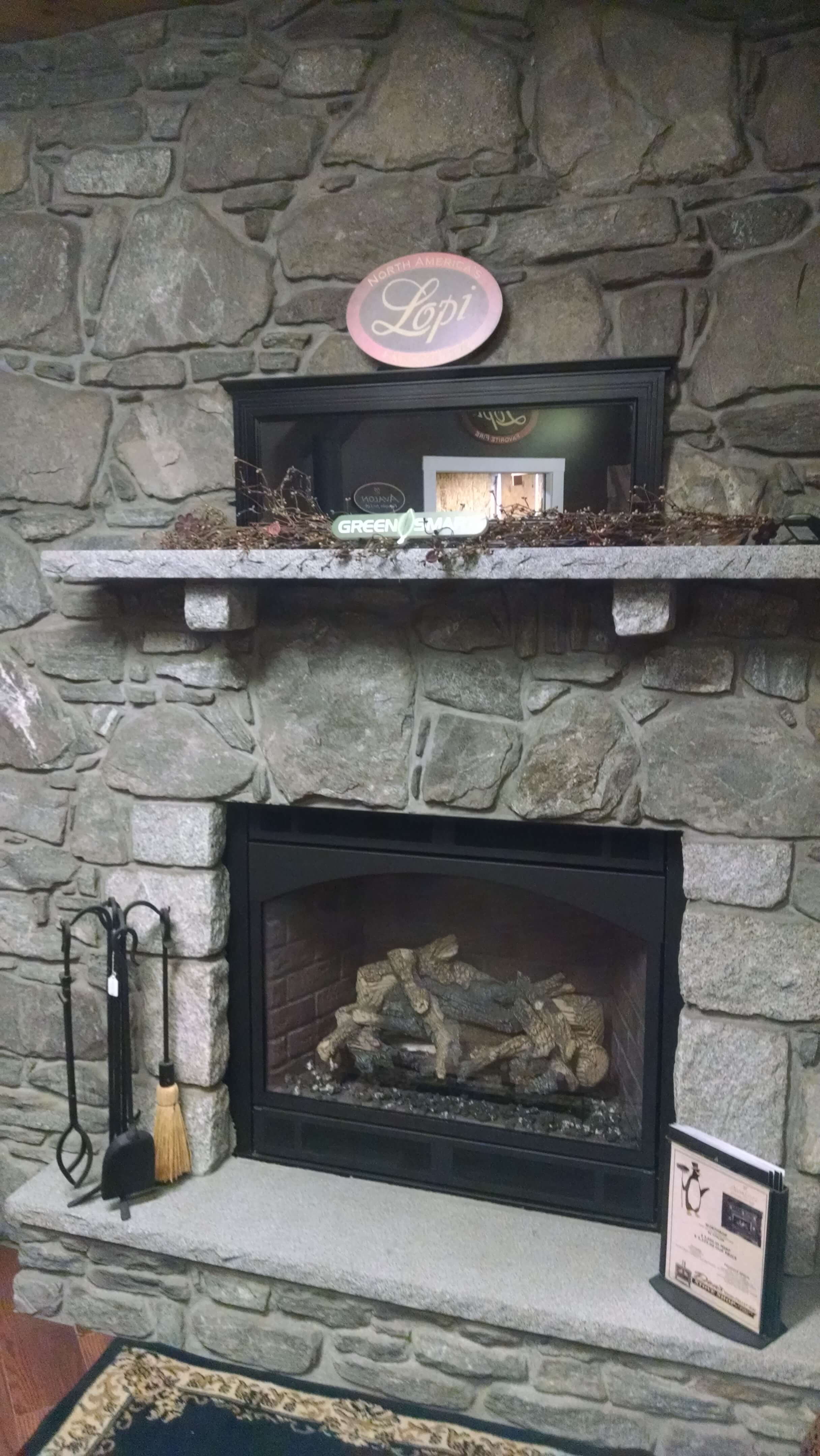 Display Stove in Store