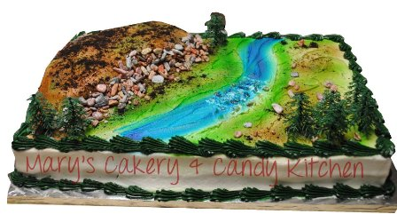 Mary's Cakery & Candy Kitchen cake