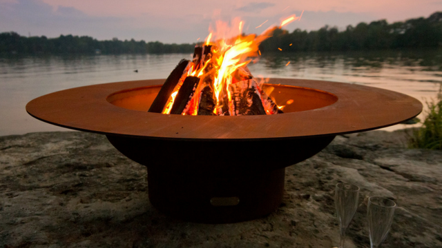 Handcrafted Fire Pit