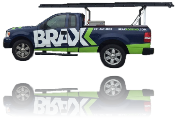 BRAX Roofing truck