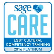 We are proud to be Platinum Certified SAGE Care Provider specializing in helping LGBT seniors