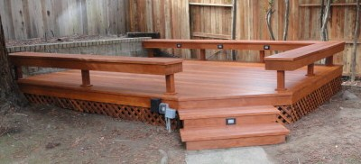 B Grade with built in bench