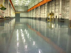 EPOXY FLOOR COATING / Let Preferred create a durable, long lasting and hard wearing flooring solution for your business.