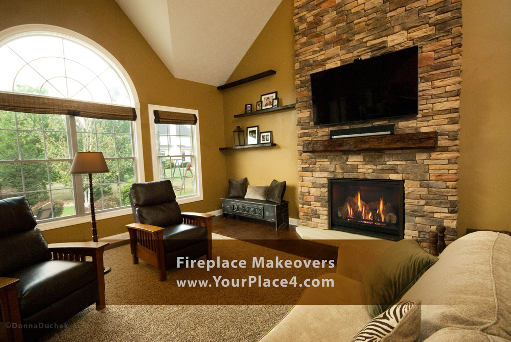 Fireplace Makeovers for your lifestyle.