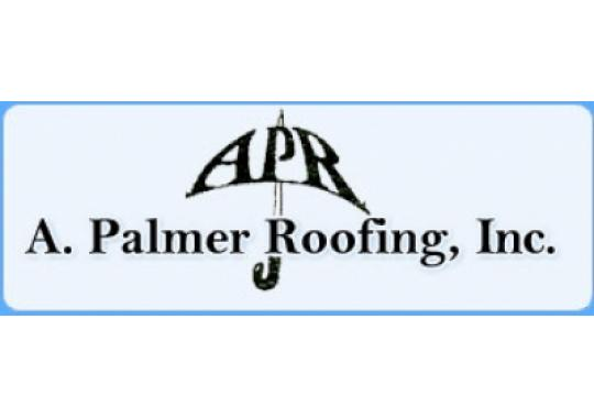 A Palmer Roofing logo