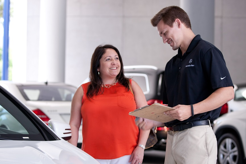 Our friendly Service Advisors will walk you through the whole process seamlessly.