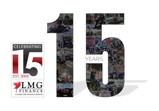 15 years of serving successful dealerships across Canada.